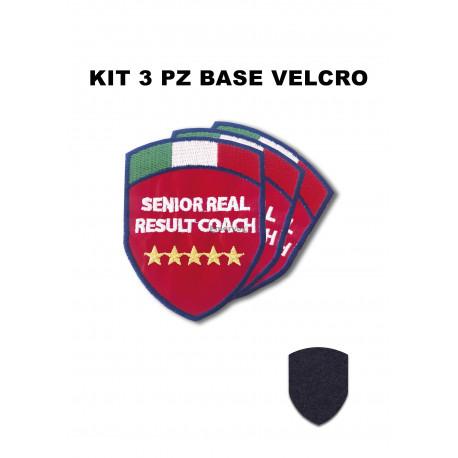 Kit 3 pz Scudetti SRRC