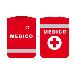 Pettorina Croce Rossa Italiana MEDICO