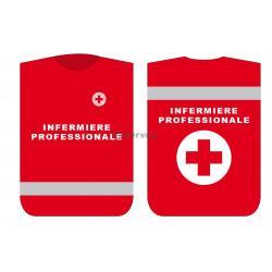 Pettorina Croce Rossa Italiana INFERMIERE PROFESSIONALE