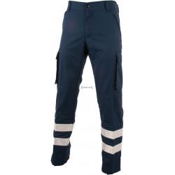 Pantalone tutto blu Protezione Civile