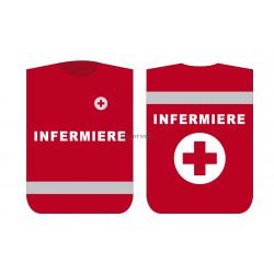 Pettorina Croce Rossa INFERMIERE