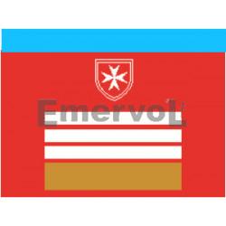 D.di F. Coordinatore Nazionale Infermieri base velcro cm 5x5