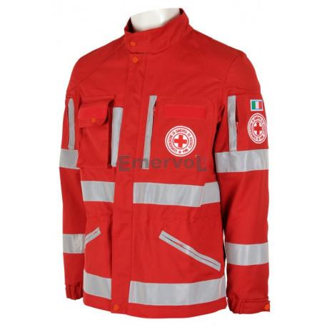 Giacca Sahariana Croce Rossa Italiana