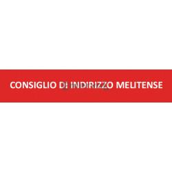 Scritta Identificativa CONSIGLIO DI INDIRIZZO MELITENSE base velcro cm 3x10