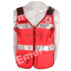Corpetto Alta Visibilità UNI EN 20471 Croce Rossa Italiana