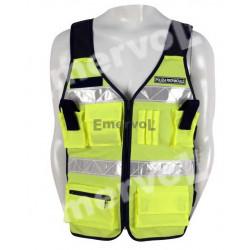 Corpetto Operativo alta visibilità Polizia Provinciale