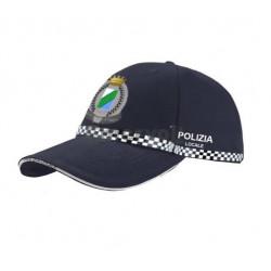 """Berretto """"baseball"""" divisa operativa Polizia Locale Regione Abruzzo"""