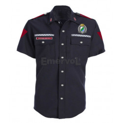 Camicia Uomo Polizia Locale Regione Abruzzo mc