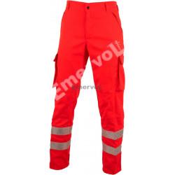 Pantalone Rosso Alta Visibilità UNI EN20471