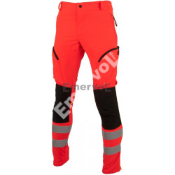 Pantalone Tecnico Rosso Alta Visibilità
