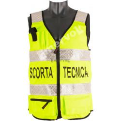Corpetto Certificato UNI EN 20471SCORTA TECNICA