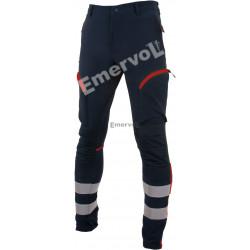 Pantalone Tecnico BLU elasticizzato