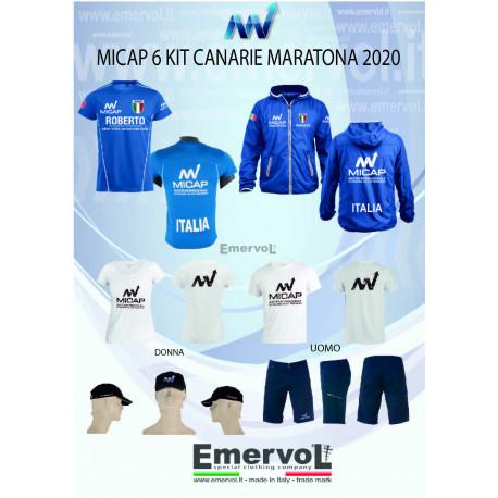 MICAP 6 KIT CANARIE MARATONA 2020 DONNA