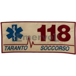 PATCH RICAMATA CM 24,5X11