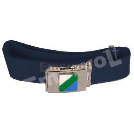 Cintura Canapa Blu Polizia Locale
