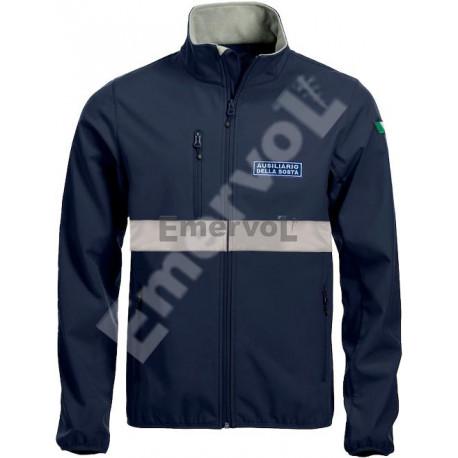 Giacca Unisex Soft Shell Ausiliario della Sosta