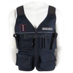 CODICE MEPA: 601CCPL - Corpetto Tecnico Autoregolabile Polizia Locale in Cordura