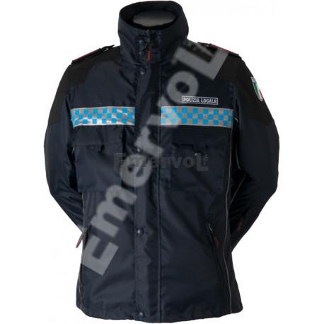 Giaccone uomo Polizia Municipale