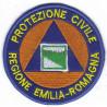DISTINTIVO RICAMATO PROTEZIONE CIVILE EMILIA ROMAGNA DIAM.7,5CM