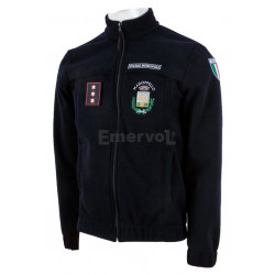 Giubbetto in Micropile Windstopper Unisex Polizia Municipale