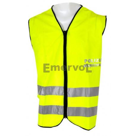 Gilet alta visibilità Polizia Municipale