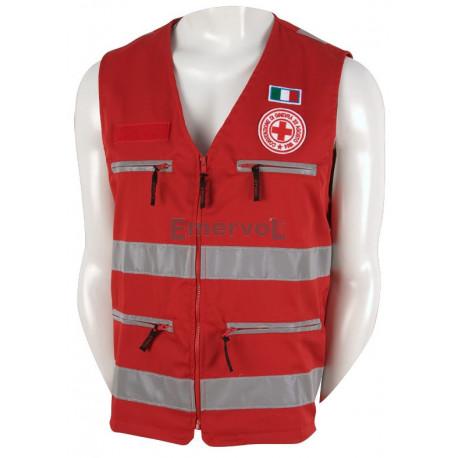 Gilet Rosso Croce Rossa Italiana