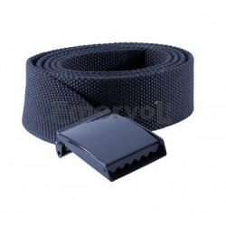 Cintura in canapa fibbia a piastra neutra H cm 4