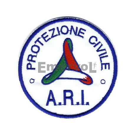 A.R.I. etichetta ricamata Protezione Civile