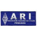 A.R.I. etichetta ricamata personalizzata