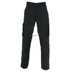 Pantalone Multitasche Nero
